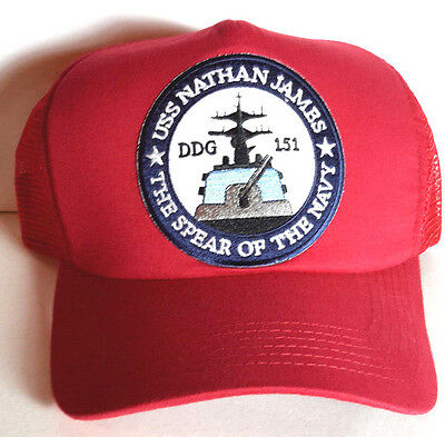 b070f8853df USS Nathan James- Last Ship TV Series Baseball Cap Hat-Red- FREE S H  (LSHA-RED)