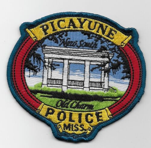 Colorful Picayune Police State Mississippi MS