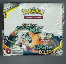 POKEMON TCG SUN & MOON COSMIC ECLIPSE BOOSTER SEALED BOX