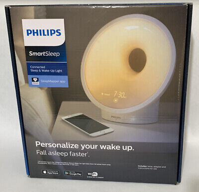 Philips HF3670/60 Smartphone Enabled Sleep and Wake-Up Smart Light — Open Box
