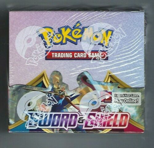 Pokemon TCG Sword and Shield Booster Box 36 Booster Packs