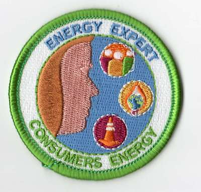 Boy Cub Girl Scouts Embroidered Badge Fun Patch Badge Consumers Energy Expert