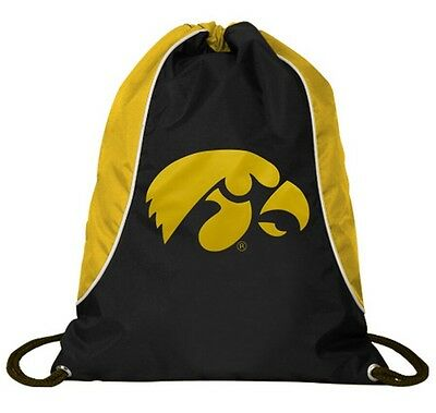 Concept One Iowa State Hawkeyes Drawstring Back Pack Book Bag School Red Gym#12
