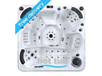 6 seater hot tub palm