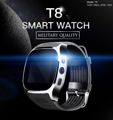 LATEST Bluetooth Smart Watch Cameras SIM Slot For HTC Samsung Android Phone USA
