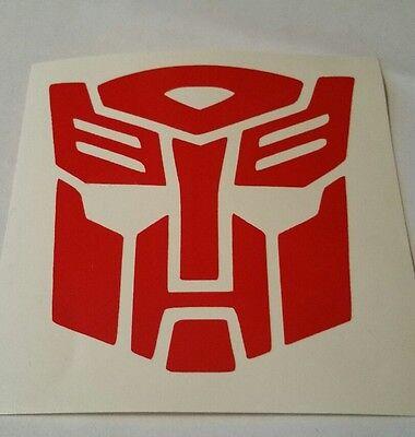 Autobot Symbol / Logo Sticker Decals Transformers Optimus Prime Bumblebee