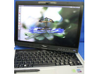 Fujitsu LifeBook Laptop Touchscreen Pen WINDOWS 10 Tablet Swivel Screen Rotate WiFi Office