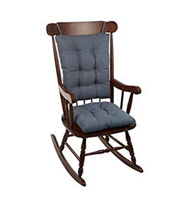 Gripper Jumbo Saturn Rocking Chair Cushion Set, Blue ~ Ships Free