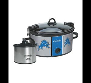 Crock-Pot NFL 6-Quart Slow Cooker Detroit Lions for sale online  61d68923a