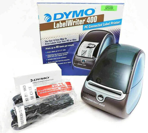 Dymo LabelWriter 400 PC Connected Thermal Label Printer – Never Used
