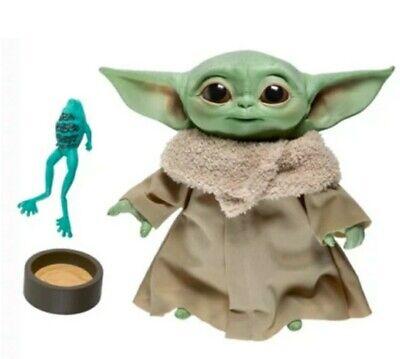"""Hasbro Mandalorian 7.5"""" Star Wars The Child Baby Yoda Talking Plush Toy"""