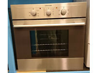 Bo40 stainless steel electrolux integrated single electric oven comes with warranty can be delivered