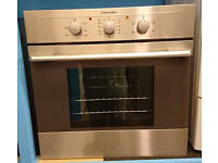 Wo40 stainless steel electrolux integrated single electric oven comes with warranty can be delivered