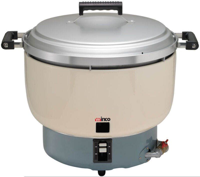 TW - GRC-55, RICE COOKER, GAS, 55 CUPS