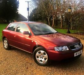 As New Genuine 25000 Miles AUDI A3 1.6 SE 3 DR AUTOMATIC FSH At AUDI CAMBELT CHANGED BY AUDI DEALER
