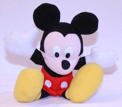 Vintage Mickey Mouse Plush Stuffed Animal