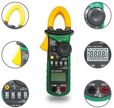 New Ms2108a Digital Clamp Meter Multimeter Ac Dc Current Volt Tester