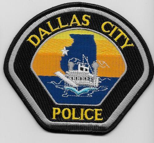 Dallas City Police State Illinois IL Colorful Steamboat