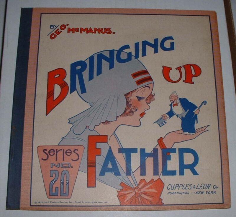 Bringing Up Father # 20.. 1931  comic--r.ed.....FINE+ 6.5  grade..