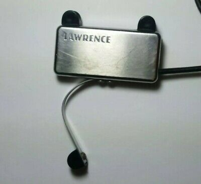 Vintage Bill Lawrence Acoustic Soundhole Passive Pickup Humbucker 4 guitar amp