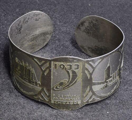 1933 Chicago World's Fair Cuff Bracelet – A Century of Progress