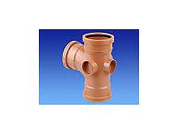 Underground Plastic Drainage Fittings inc. Insp.Chambers 110mm & 160mm (Osma,Hepworth)