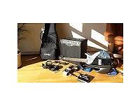 Variax line 6 guitar and amp