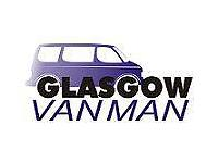 Removal delivery driver Glasgow Van Man