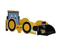 Kidsaw JCB Digger bed - toddler size