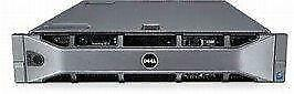 Dell PowerEdge R710 Server - 2x Xeon Hex Core 2.66GHz (X5650) - 72GB RAM 6x600GB 15K SAS SFF Hard Drives- Perc 6i RAID