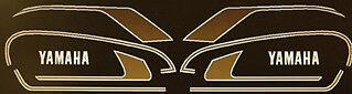 <em>YAMAHA</em> XS500 1975 COMPLETE DECAL SET