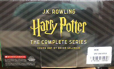 NEW Harry Potter The Complete Series Box Set Books 1-7 -Brand New J.K. Rowling