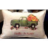 Autumn decor, autumn pillow, fall colors, farmhouse, rustic, Thanksgiving.12x18