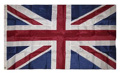 5x8 Embroidered Sewn UK United Kingdom British 300D Nylon Flag 5'x8'