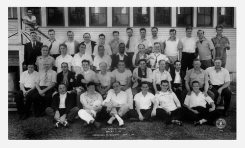 1941 Bronx New York City Police Club Group Photo