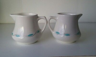 Vintage Homer laughlin best china USA 2 creamers