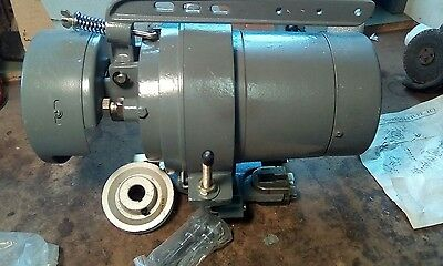 Atlas Clutch Motor For Sewing Machine At-400212hp. 440 Volts 3 Phase