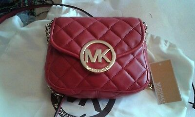 Michael Kors Red shoulder Bag Brand New