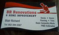 20 years experience home renovations  skilled carpenter