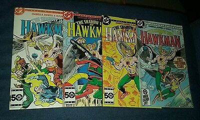 The Shadow War of Hawkman 1-4  Complete Set lot run series DC comics collection