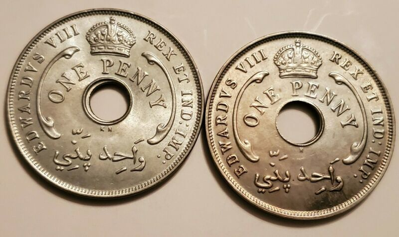 1936 H & KN British West Africa Penny