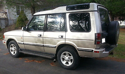 1998 Land Rover Discovery LSE 1998 Land Rover Discovery LSE Custom 4.6 V8 Headers Brush Bar Excellent