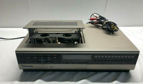 Rare! Panasonic Omnivision PV-1225 Vintage VHS Player Recorder-Top Loader Tested