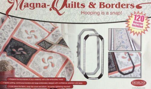 MAGNA-QUILTS & BORDERS INCLUDE 120 DESIGNS FOR BERNINA ARTISTA 830,730,630,640