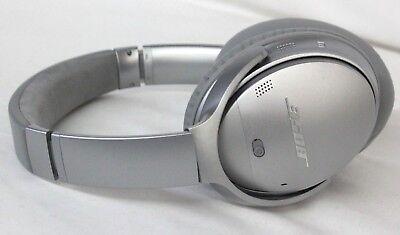 Bose QuietComfort 35 Series II Wireless Headphones- Silver (39-4B)