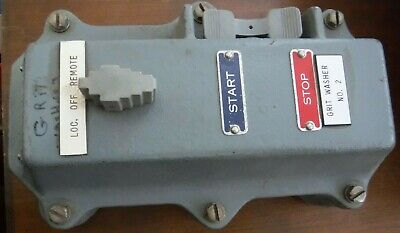 Square D 9001 Gw30 Explosion Proof Startstop Switch Pendant