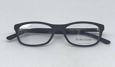 e110bfbaab83 Polo Ralph Lauren PH 2125 Authentic Eyeglasses Frame 52-17-145 Matte Black  5505
