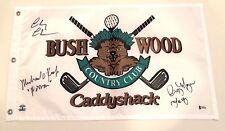 Caddyshack Signed Bushwood Country Club Golf Pin Flag Chase O