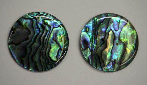 4 Natural Abalone Paua Shell Round Cabochon 4mm 5mm 6mm 7mm 8mm 10mm 12mm 14mm