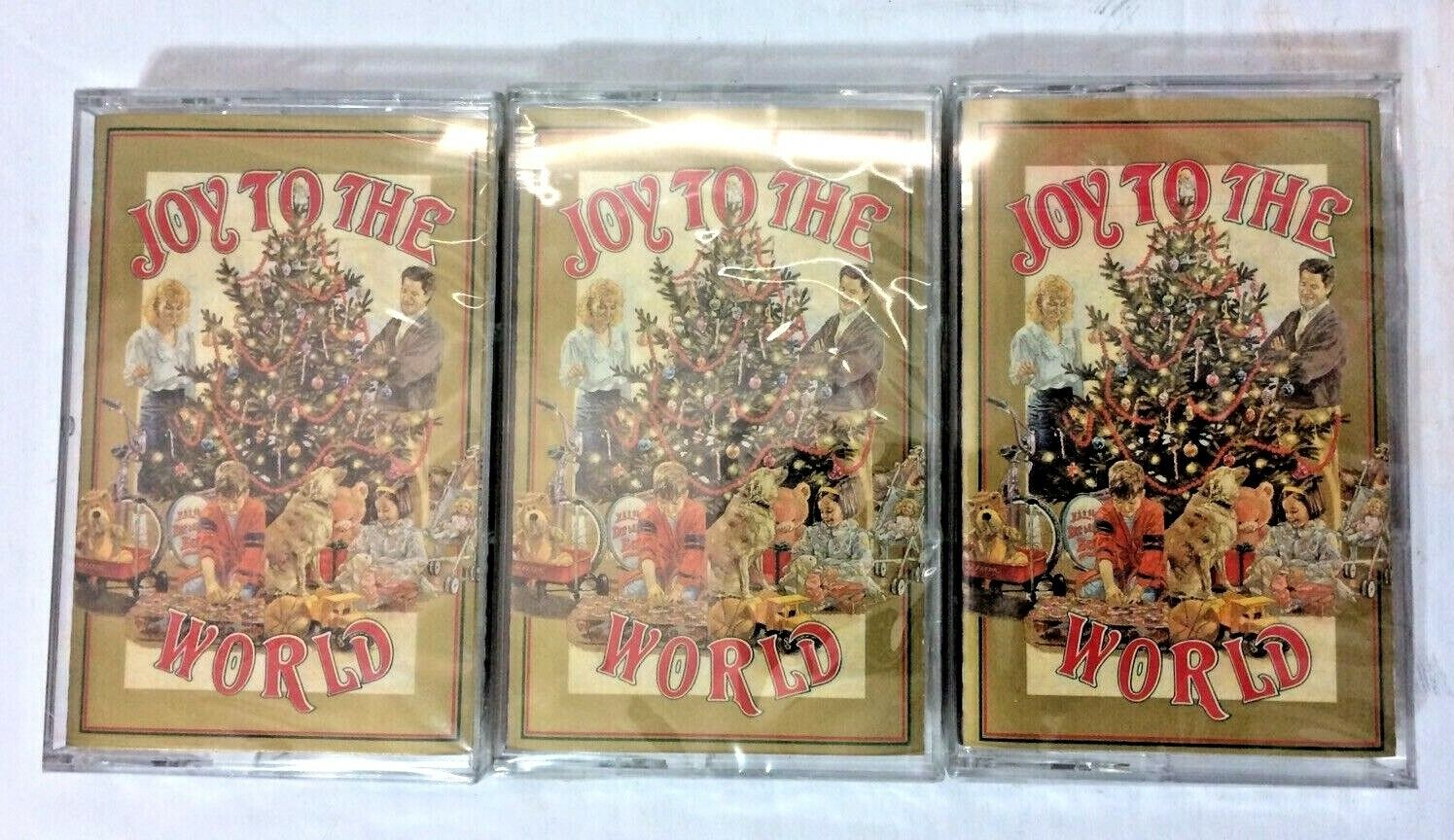 NEW Lot of 3 Readers Digest Joy to The World Christmas Music on Cassette Tapes